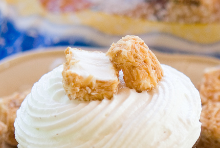 Coconut Marshmallow Topping