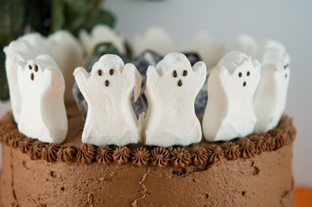 Spooky Chocolate Cake