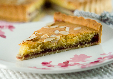 Almond Raspberry Tart