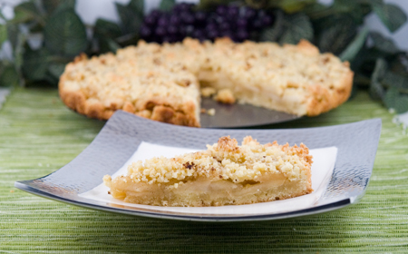 Apple Crumb Tart