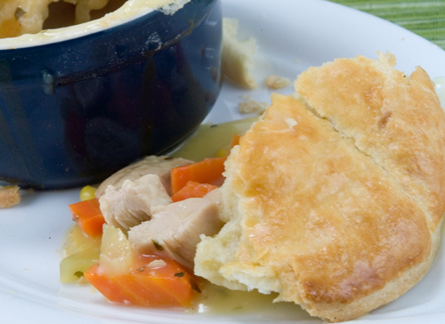Mini Chicken Pot Pie - afoodieaffair.com