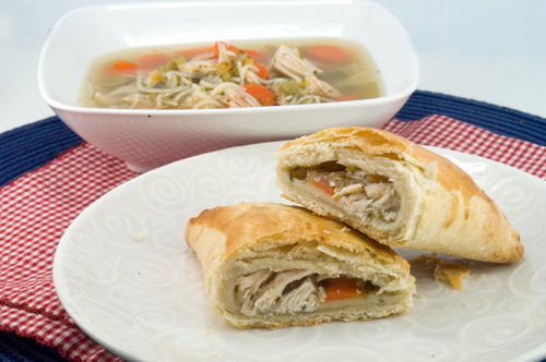 Chicken Soup & Chicken Hand Pies - afoodieaffair.com
