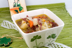 Corned Beef and Cabbage Soup - afoodieaffair