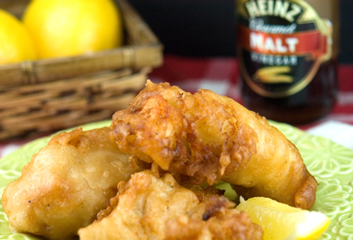 Beer Battered Haddock - afoodieaffair.com