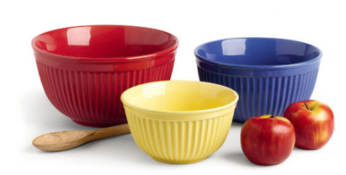 Primary Brights Mixing Bowls | shopafoodieaffair.com