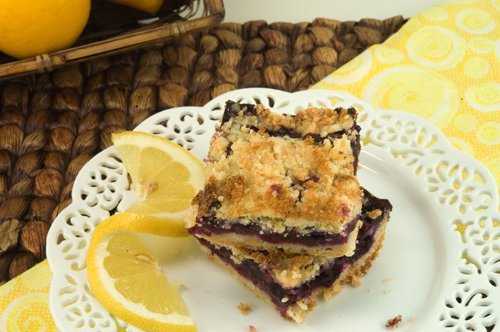 Blueberry Crumb Bars | afoodieaffair.com