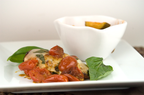 Chicken Caprese | afoodieaffair.com