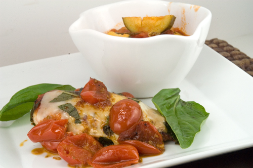 Chicken Caprese \ afoodieaffair.com