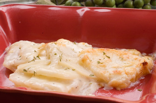 Cheesy Scalloped Potatoes | afoodieaffair.com