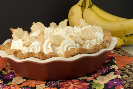 Banana Cream Pie | afoodieaffair.com