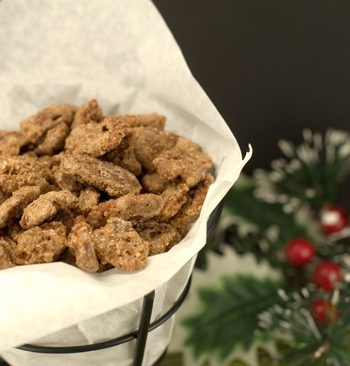 Candied Cinnamon Pecans | afoodieaffair.com