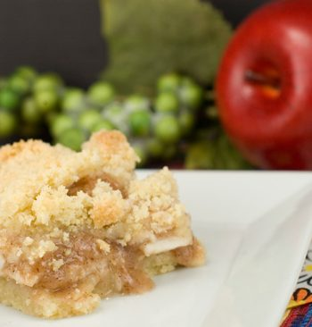 Apple Crumb Bars | afoodieaffair.com