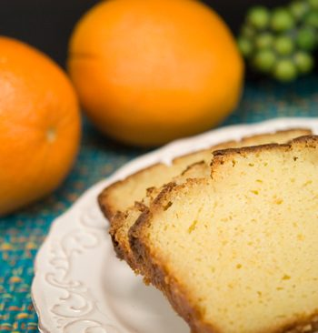 Orange Ricotta Pound Cake | afoodieaffair.com