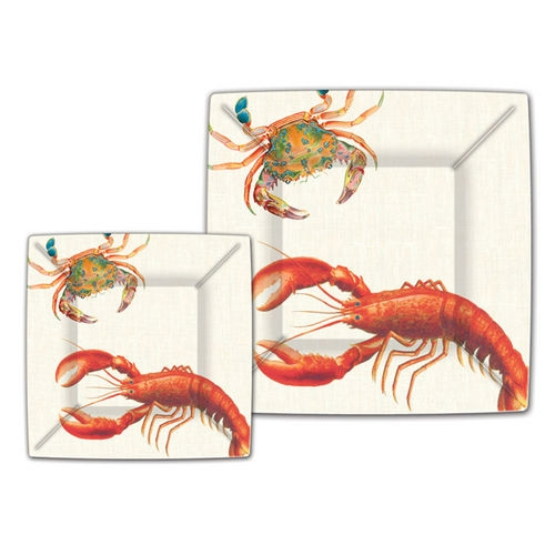 Lobster Paper Plates | shopafoodieaffair.com
