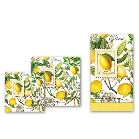 Lemon Basil Paperware | Shopafoodieaffair.com