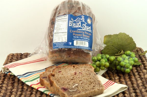 The Bread Shed Cranberry Pecan Power Bread | afoodieaffair.com