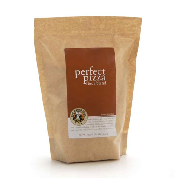 Perfect Pizza Flour | afoodieaffair.com