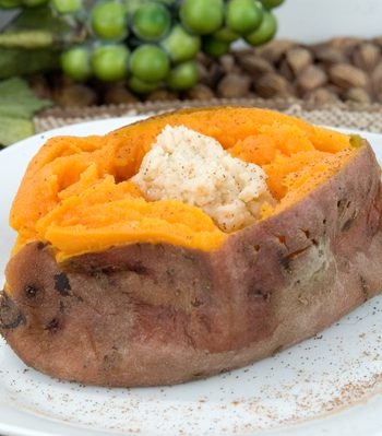 Steamed Sweet Potatoes | afoodieaffair.com