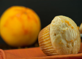 Orange Glazed Muffins \ afoodieaffair.com