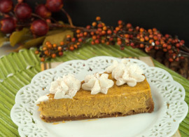 Pumpkin Cheesecake| afoodieaffair.com