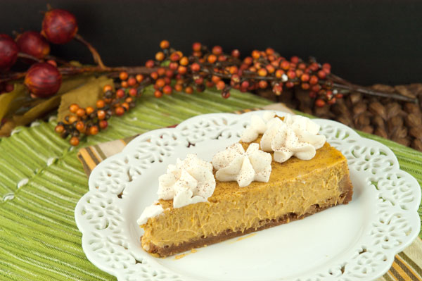 Pumpkin Cheesecake | afoodieaffair.com