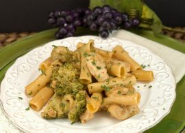 Skillet Penne with Chicken & Broccoli | afoodieaffair.com