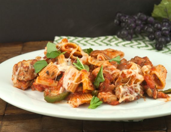 Baked Ziti and Sausage | afoodieaffair.com