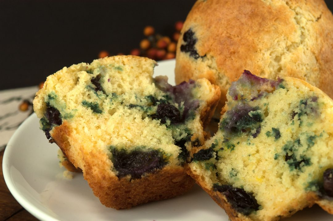 Flour Bakery Blueberry Muffins | afoodieaffair.com