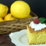 lemon velvet cake, cake, lemon