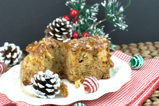 Caramel Apple Cake | afoodieaffair.com