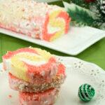 Peppermint Cake Roll | afoodieaffair.com