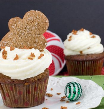 Gingerbread Cupcakes | afoodieaffair.com