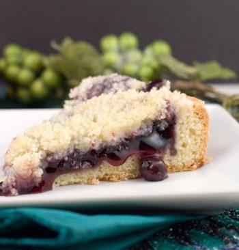 Blueberry Kuchen | afoodieaffair.com