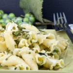 Pasta Aglio Olio with Broccoli Rabe | afoodieaffair.com