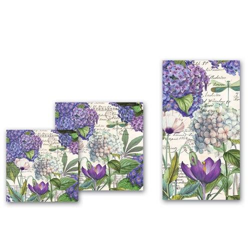 Hydrangea Napkins | shopafoodieaffair.com
