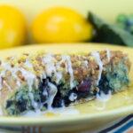 Lemon Blueberry Scones | afoodieaffair.com