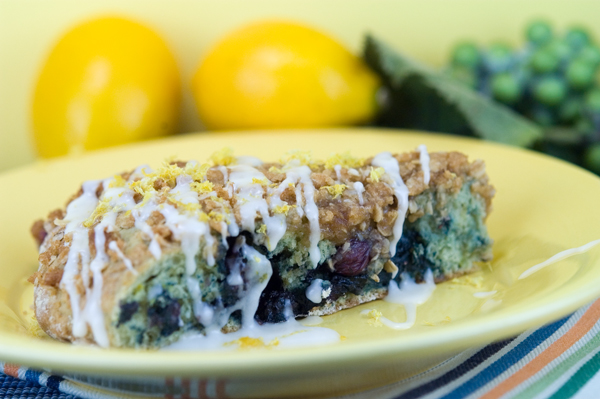 Lemon Blueberry Scones | afoodieaffair.com