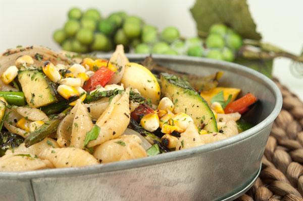 Grilled Veg Pasta Salad | afoodieaffair.com