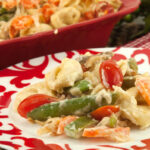 Tortellini Vegetable Bake   afoodieaffair.com