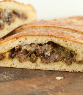 Sausage Calzone | afoodieaffair.com