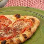 White Tomato Garlic Pizza | afoodieaffair.com