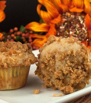 Ambrosia Muffins | afoodieaffair.com
