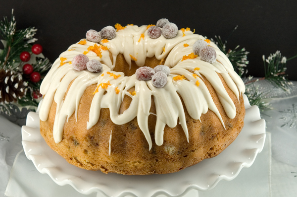 Cranberry Swirl Bundt Cake | afoodieaffair.com