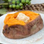 Steamed Sweet Potatoes   afoodieaffair.com