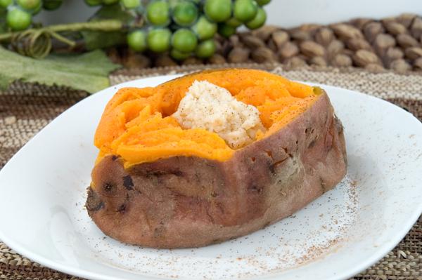 Steamed Sweet Potatoes | afoodieaffair.com