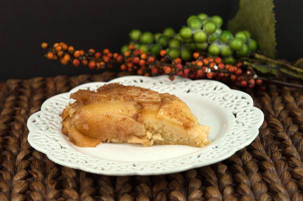 Apple Upside Down Cake | afoodieaffair.com