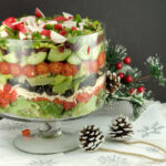 Layered Winter Salad | afoodieaffair.com