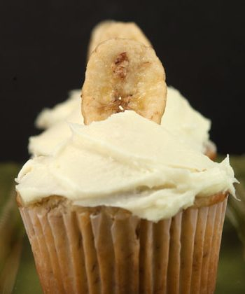 Banana Cupcakes | afoodieaffair.com