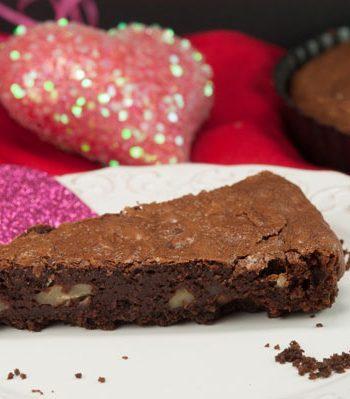 Fudge Truffle Pecan Tart | afoodieaffair.com