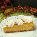 Pumpkin Cheesecake  afoodieaffair.com